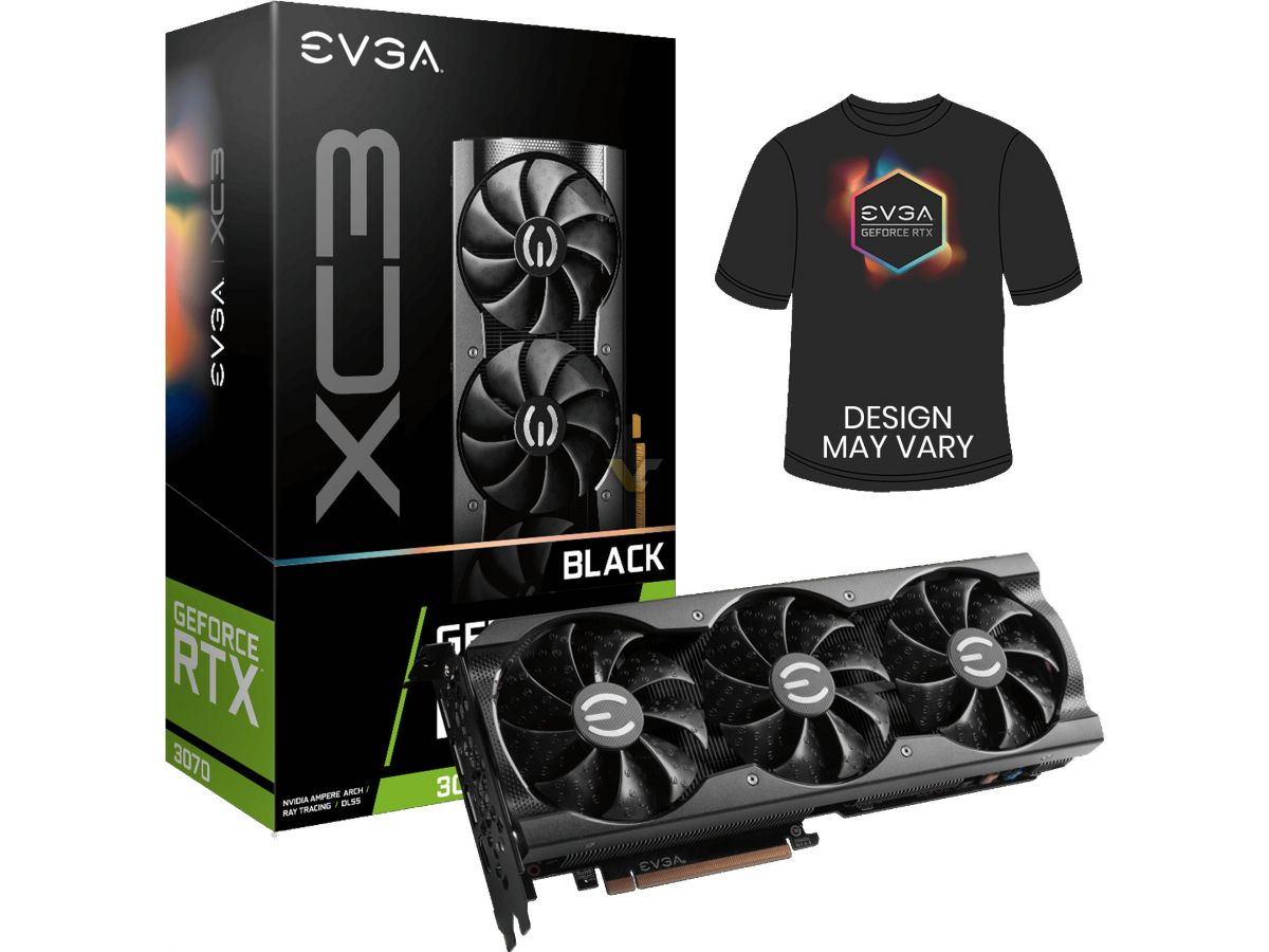 EVGA launches GeForce RTX 3070 XC3 and FTW3 series