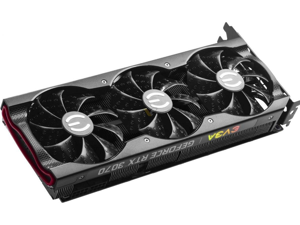 EVGA GeForce RTX 3070 8GB XC3 BLACK LAUNCH EDITION 08G P5 3751 KL13