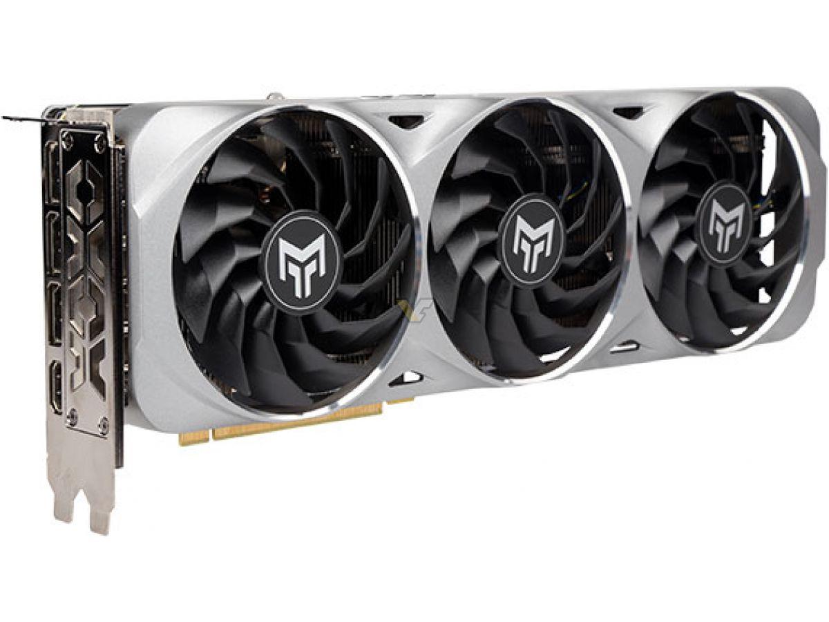 GALAX GeForce RTX 3070 8GB METALTOP OC 4