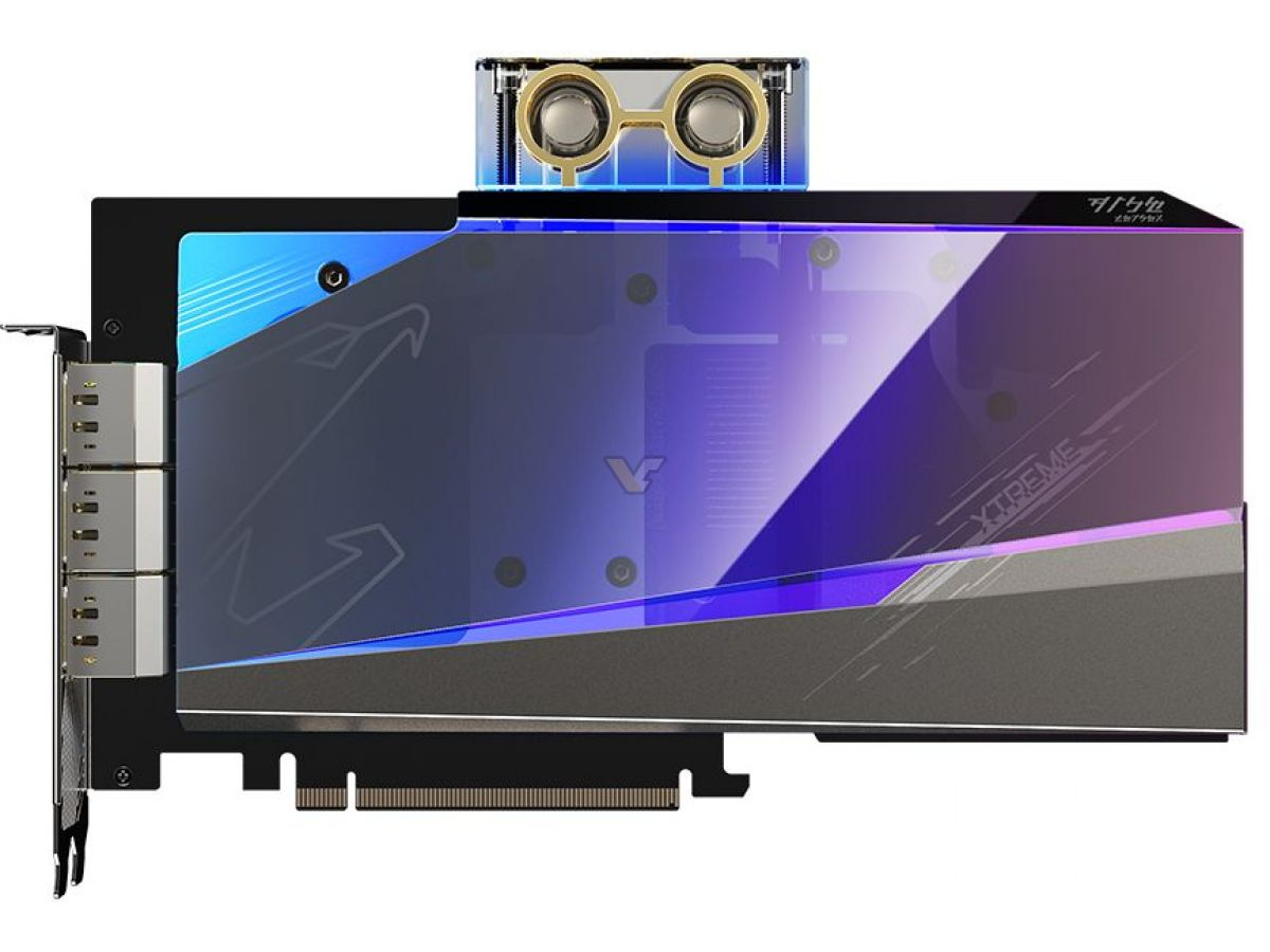 GIGABYTE GeForce RTX 3080 10GB AORUS XTREME WATERFORCE WB GV N3080AORUSX WB 10GD3