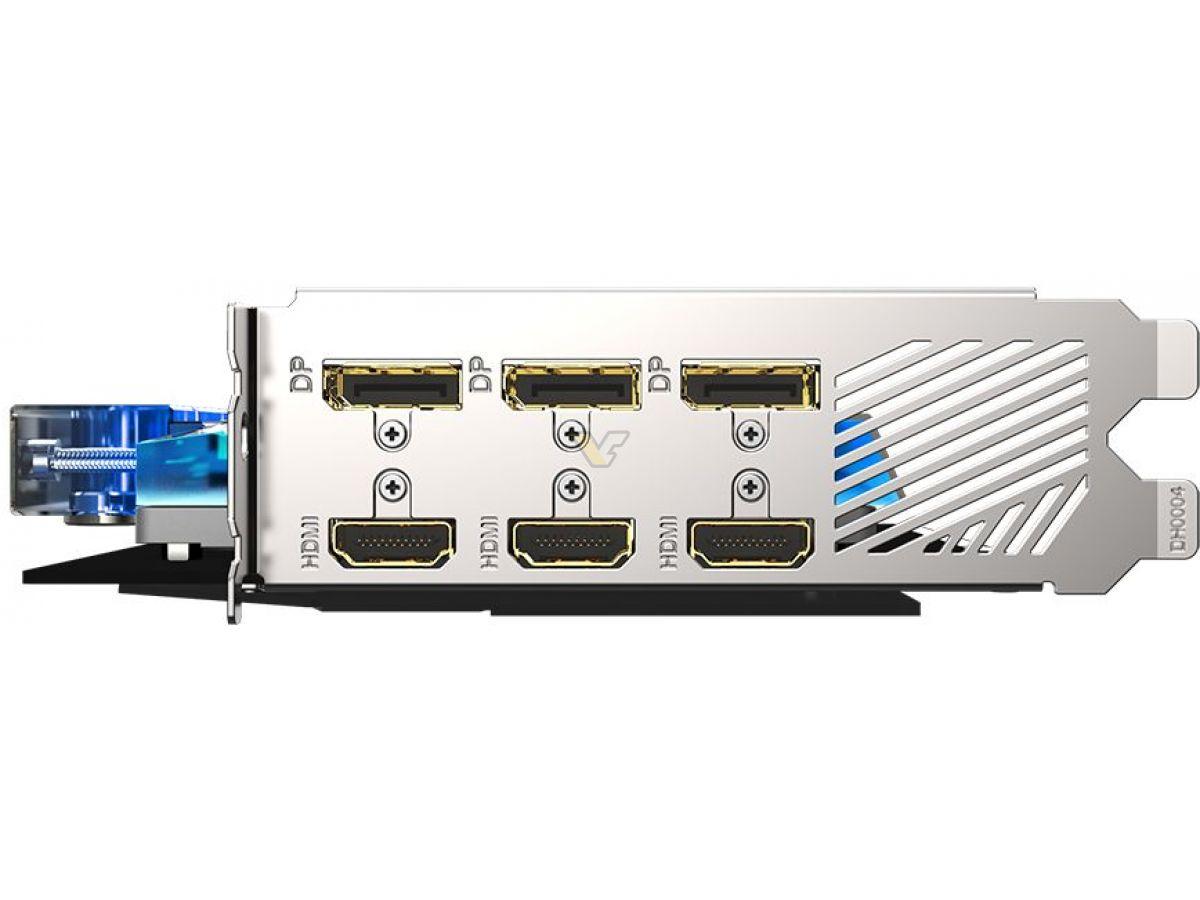 GIGABYTE GeForce RTX 3080 10GB AORUS XTREME WATERFORCE WB GV N3080AORUSX WB 10GD4
