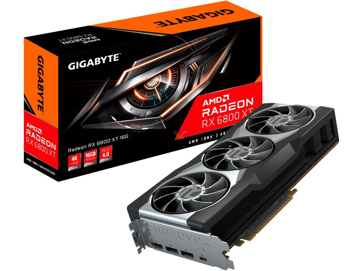 GIGABYTE and SAPPHIRE reveal Radeon RX 6800 XT and RX 6800 graphics cards