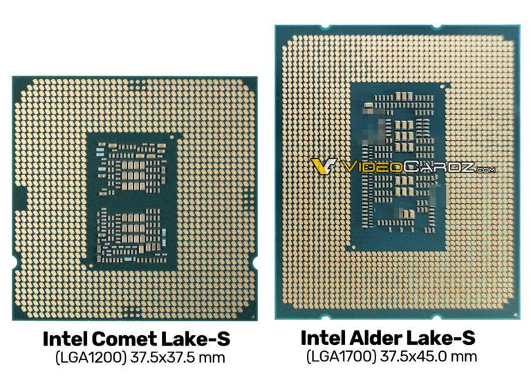 Intel Alder Lake S CPU photo