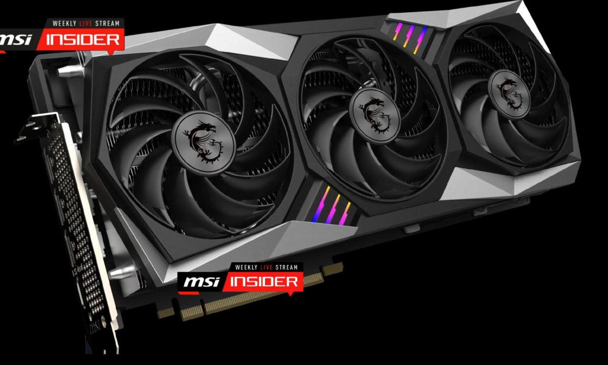 MSI Radeon RX 6800 XT GAMING X TRIO GPU3 1