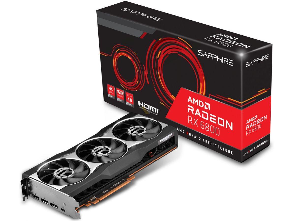 SAPPHIRE Radeon RX 6800 16GB 21305 01 20G1