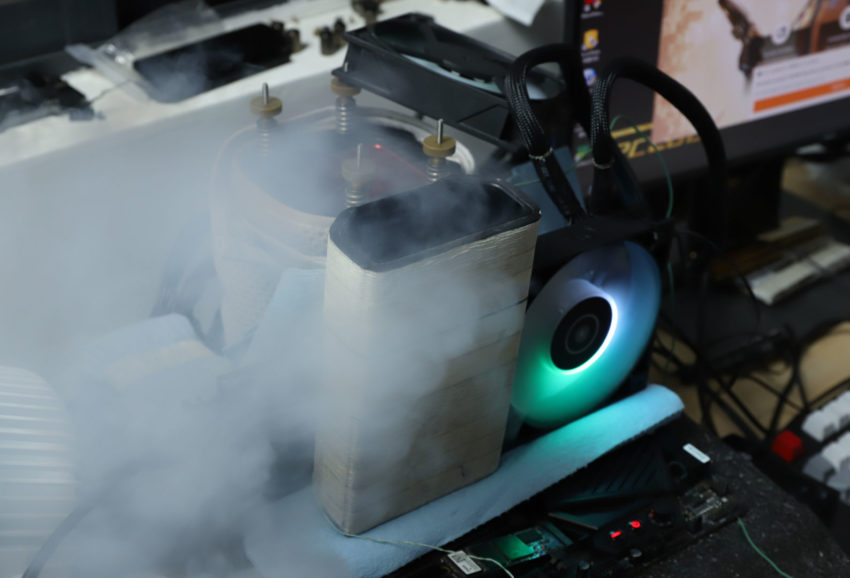 AMD Radeon RX 6800 XT разогнали до 2,8 ГГц с помощью жидкого азота