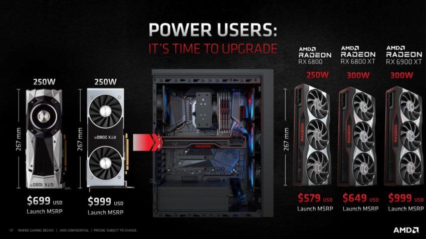 AMD Radeon RX 6800XT RX 6800 Features Performance 38