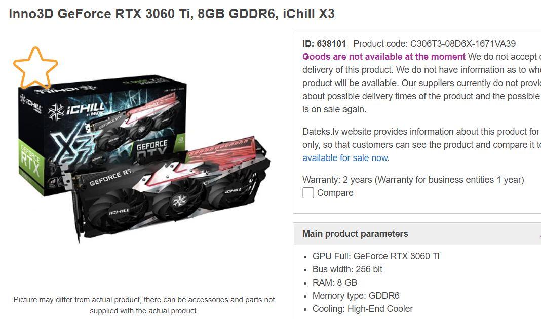 NVIDIA GeForce RTX 3060 Custom Models