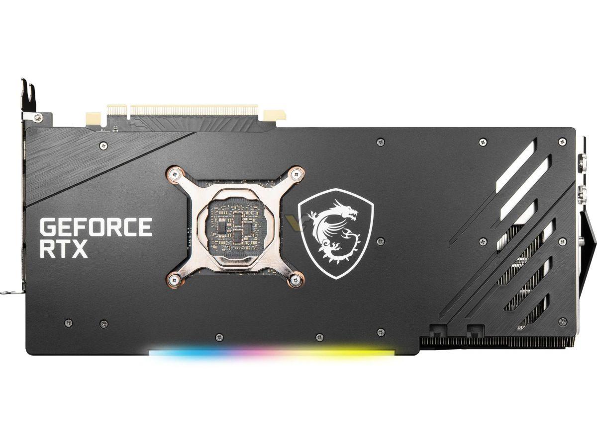 MSI GeForce RTX 3060 Ti 8GB GAMING X TRIO4