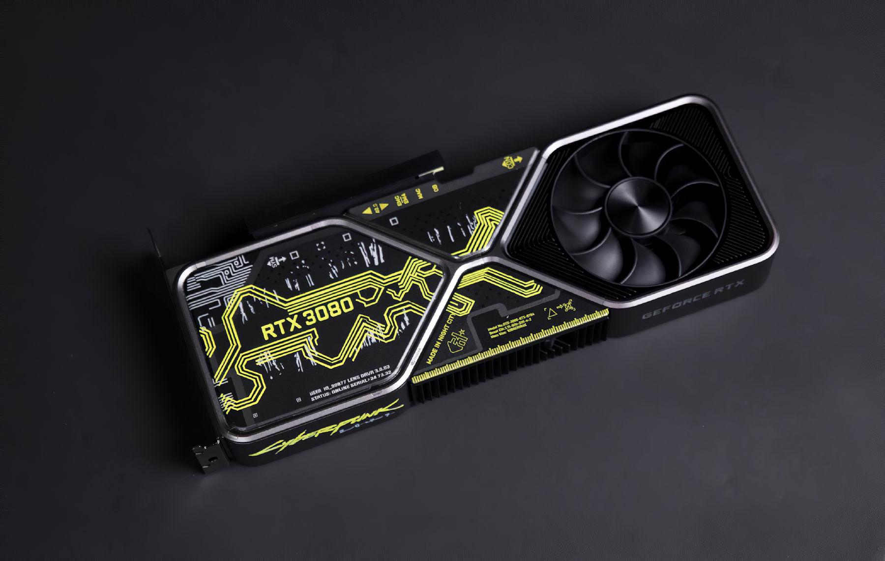 CD Projekt Red is giving away a custom NVIDIA GeForce RTX 3080 Cyberpunk 2077 Edition – VideoCardz.com