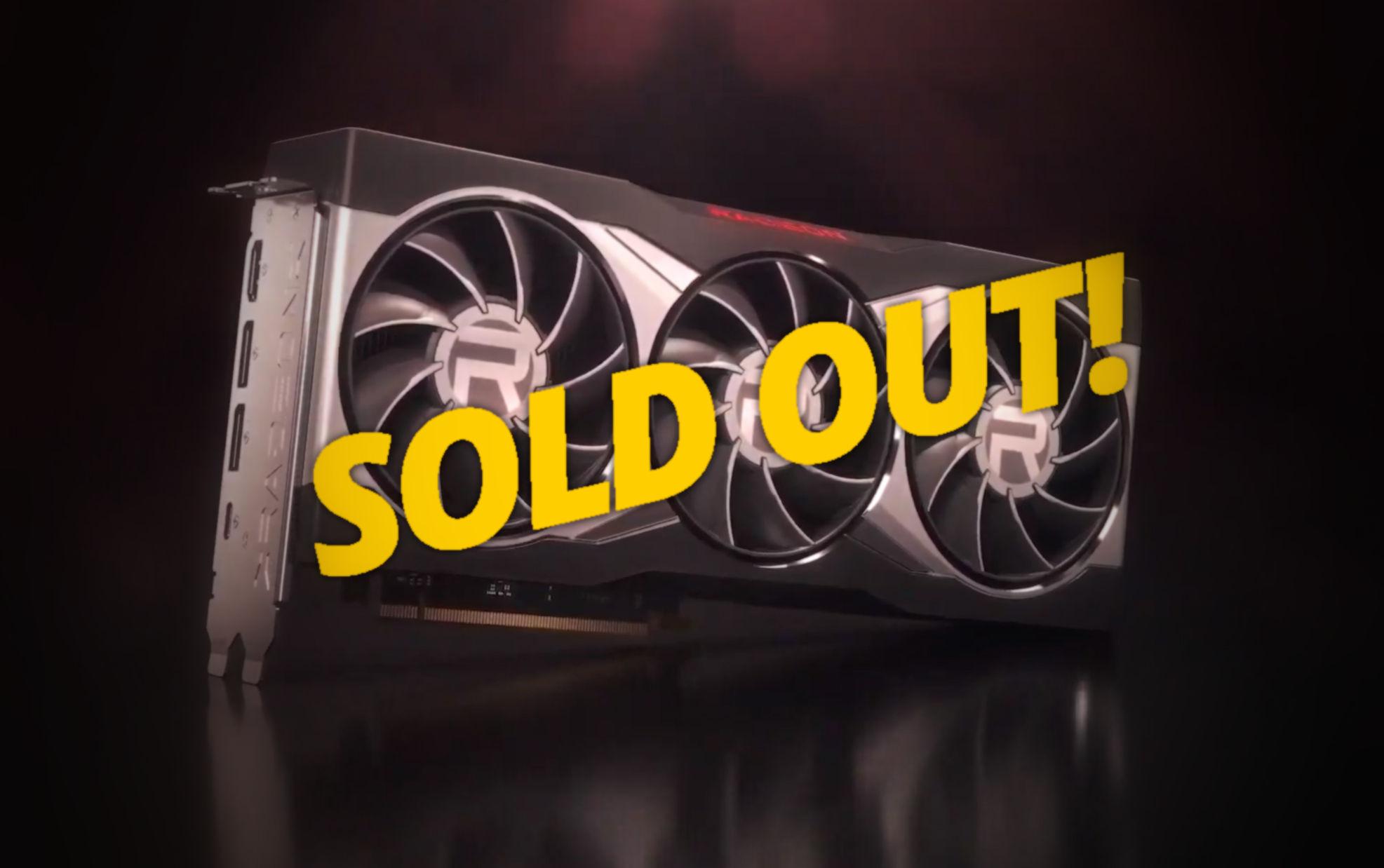 AMD Radeon RX 6800 series facing limited availability – VideoCardz.com