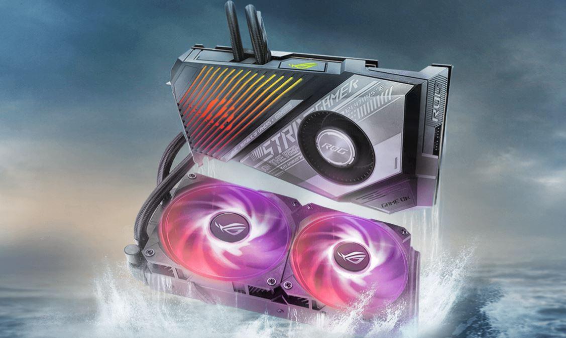 ASUS unveils liquid-cooled Radeon RX 6900 XT ROG STRIX LC graphics card – VideoCardz.com