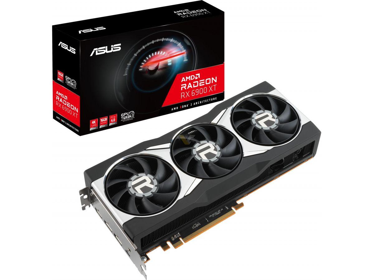 ASUS unveils Radeon RX 6900 XT graphics card – VideoCardz.com