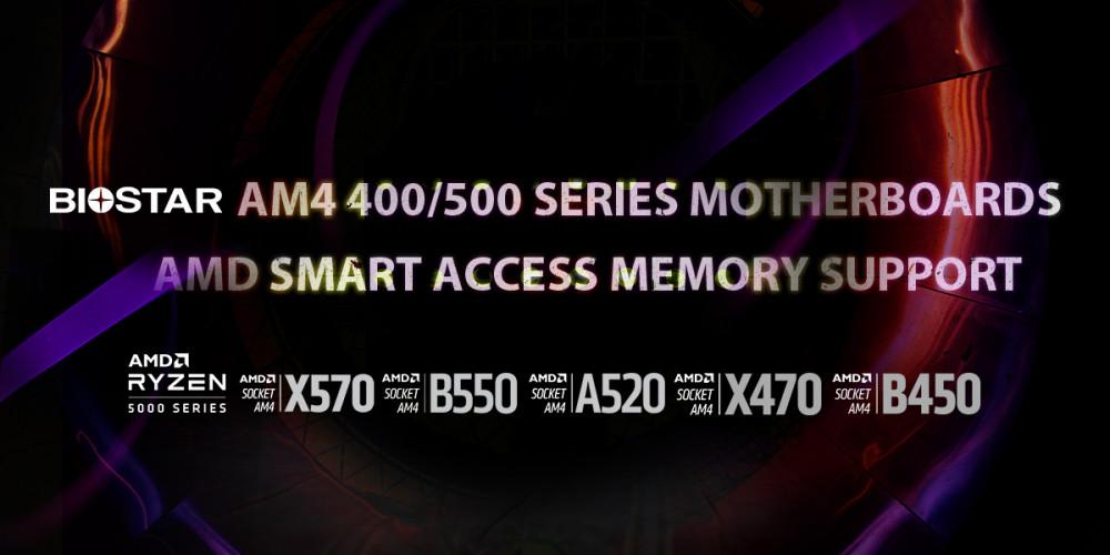 Biostar enables AMD Smart Access Memory on AM4 400/500 motherboard series – VideoCardz.com