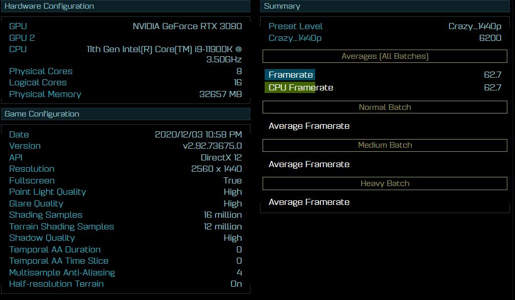 Intel Core i9 11900K Ashes of the Singularity 2