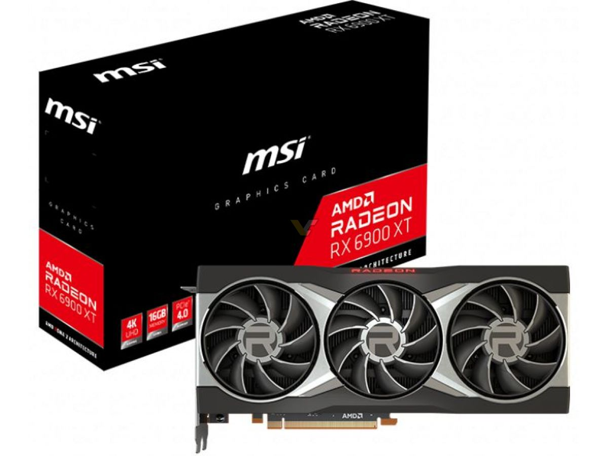 MSI launches Radeon RX 6900 XT reference graphics card – VideoCardz.com