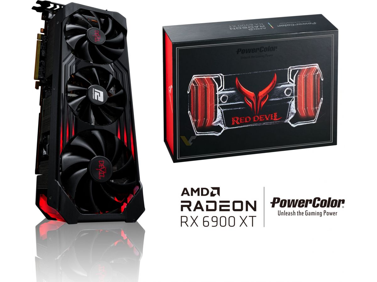 POWERCOLOR RX 6900 XT 16GB Red Devil Limited Edition 4