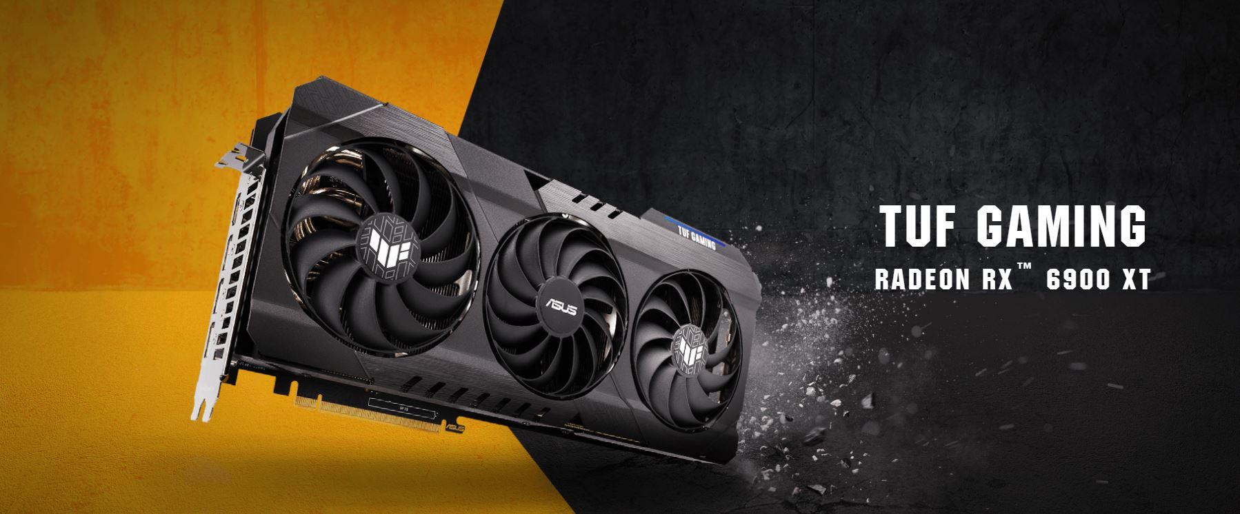 ASUS Meluncurkan Radeon RX 6900 XT TUF GAMING OC, custom RX 6900 XT graphics card Pertama