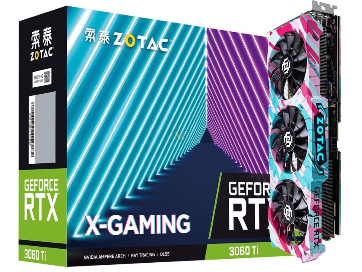 ZOTAC GeForce RTX 3060 Ti 8GB X GAMING OC1