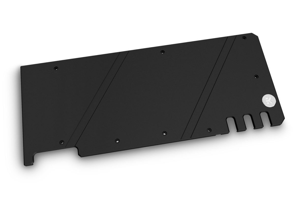 ek quantum vector trio rtx 3080 3090 backplate black top