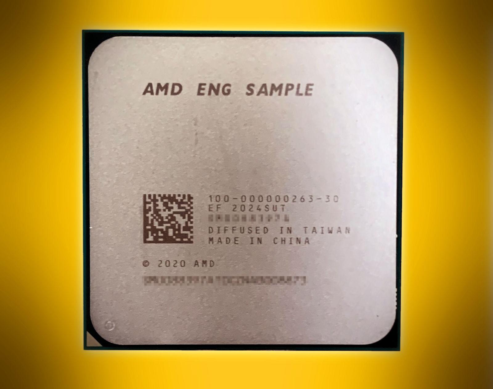 AMD Ryzen 7 5700G engineering sample again tested in CPU-Z benchmark – VideoCardz.com