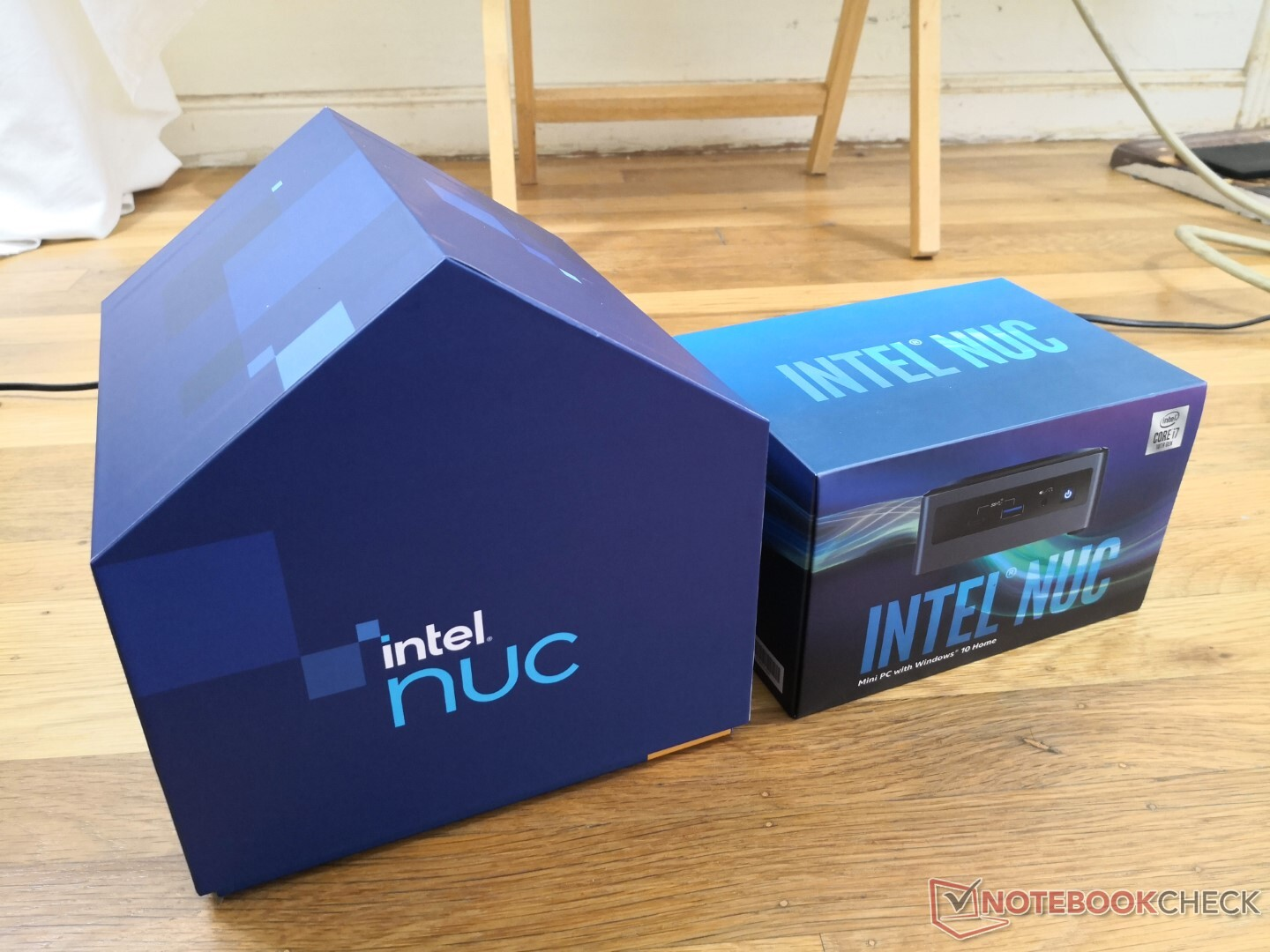 Intel NUC 11 Panther Canyon review kit comes in a house-shaped box – VideoCardz.com