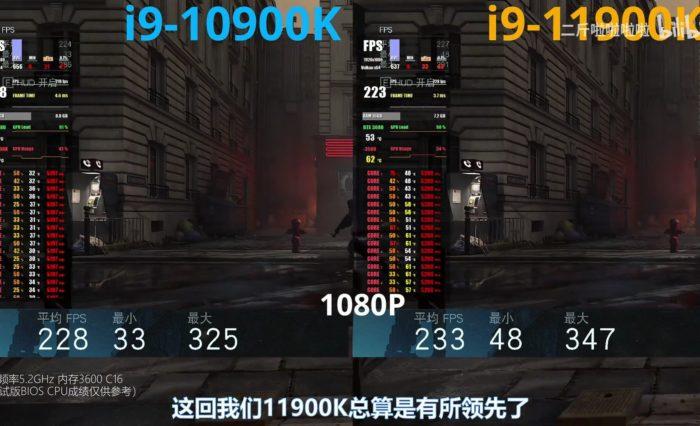 Intel Core i9 11900K Game2