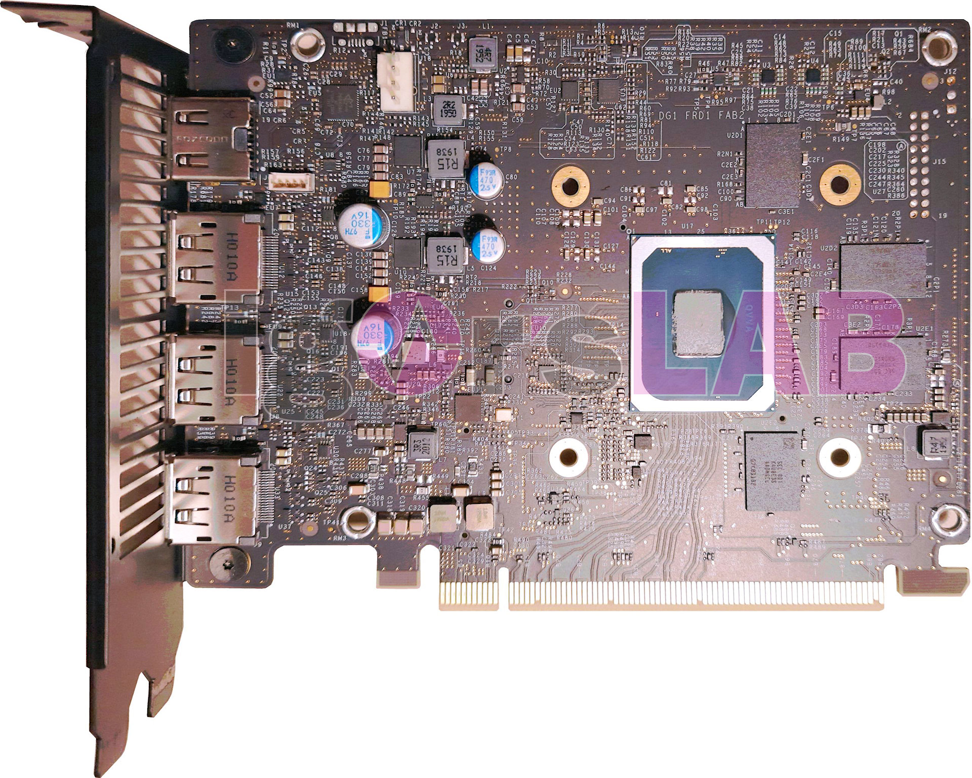Intel DG1 SDV graphics card has been taken apart – VideoCardz.com