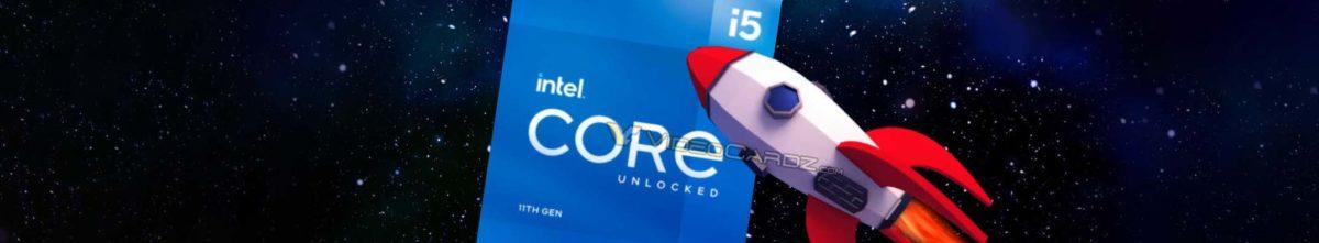 CPU Intel Core i5-11600K 6-core