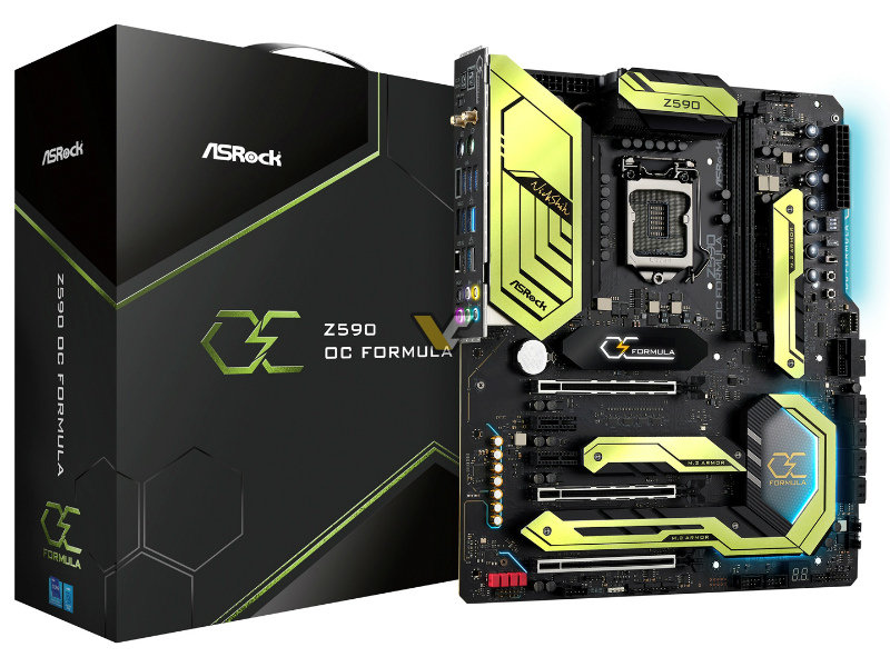 ASRock announces Z590 OC Formula motherboard for extreme overclocking – VideoCardz.com
