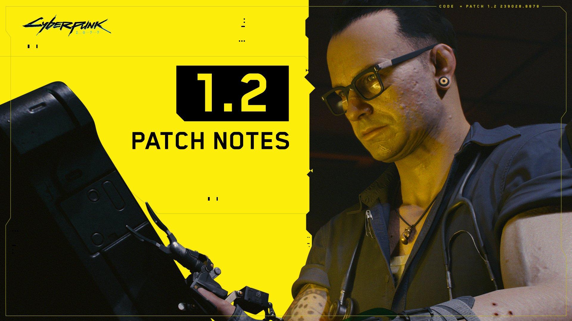 Cyberpunk 2077 releases Patch 1.2 changelog, update is 'coming soon' – VideoCardz.com