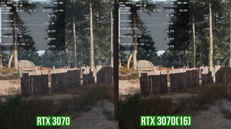 GeForce RTX 3070 16GB FarCry