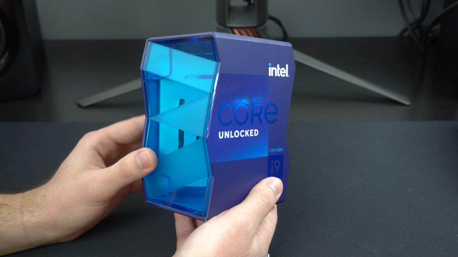 "Intel Core i9-11900K ""Rocket Lake-S"" flagship retail CPU unboxed – VideoCardz.com"