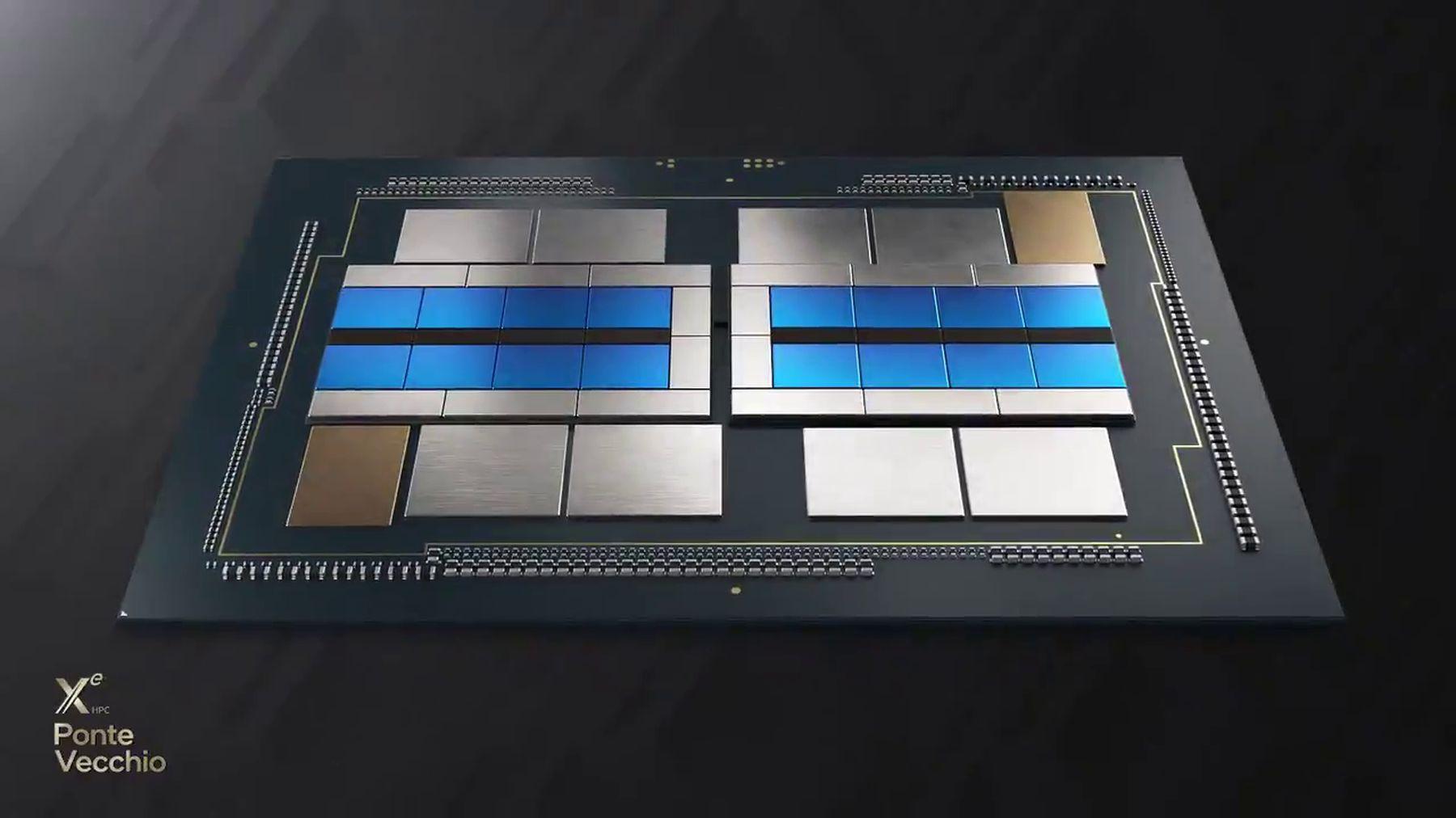 Intel Ponte Vecchio GPU (Xe-HPC) features 47 tiles and over 100 billion transitors – VideoCardz.com