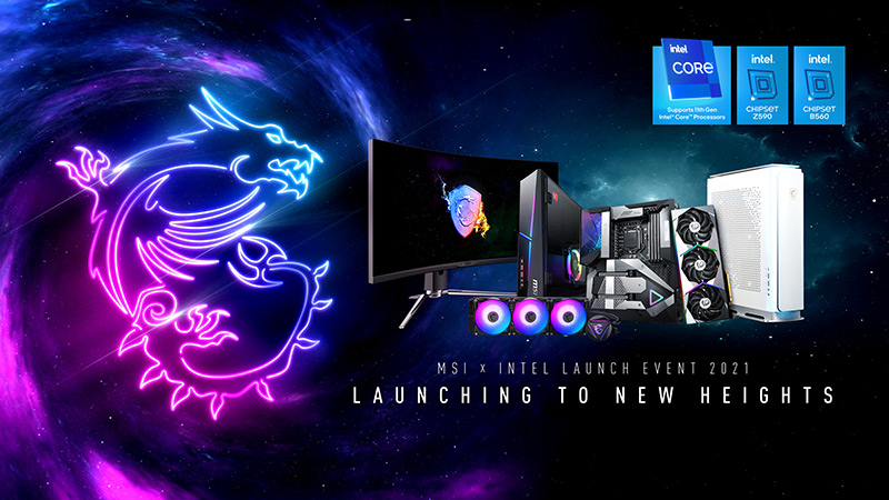 """MSI announces """"MSI X Intel launch event"""" featuring Rocket Lake and 500-series motherboards – VideoCardz.com"""