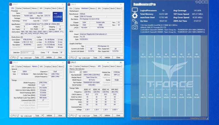 Z590 DDR4 5000 01