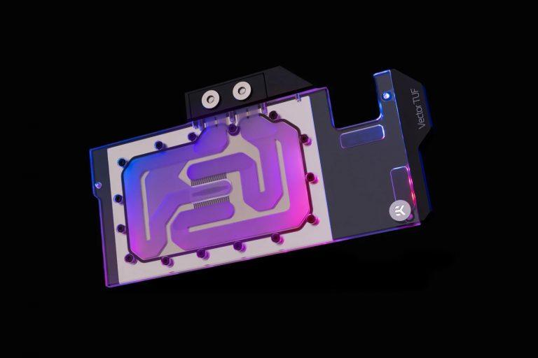 EK Quantum Vector TUF RX 68006900 D RGB Nickel Plexi 1