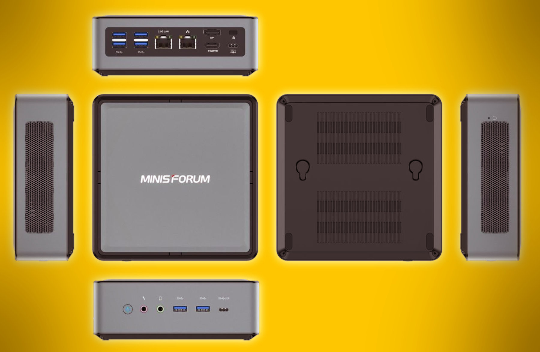 Minisforum announces HM50 mini-PC with AMD Ryzen 5 4500U CPU – VideoCardz.com