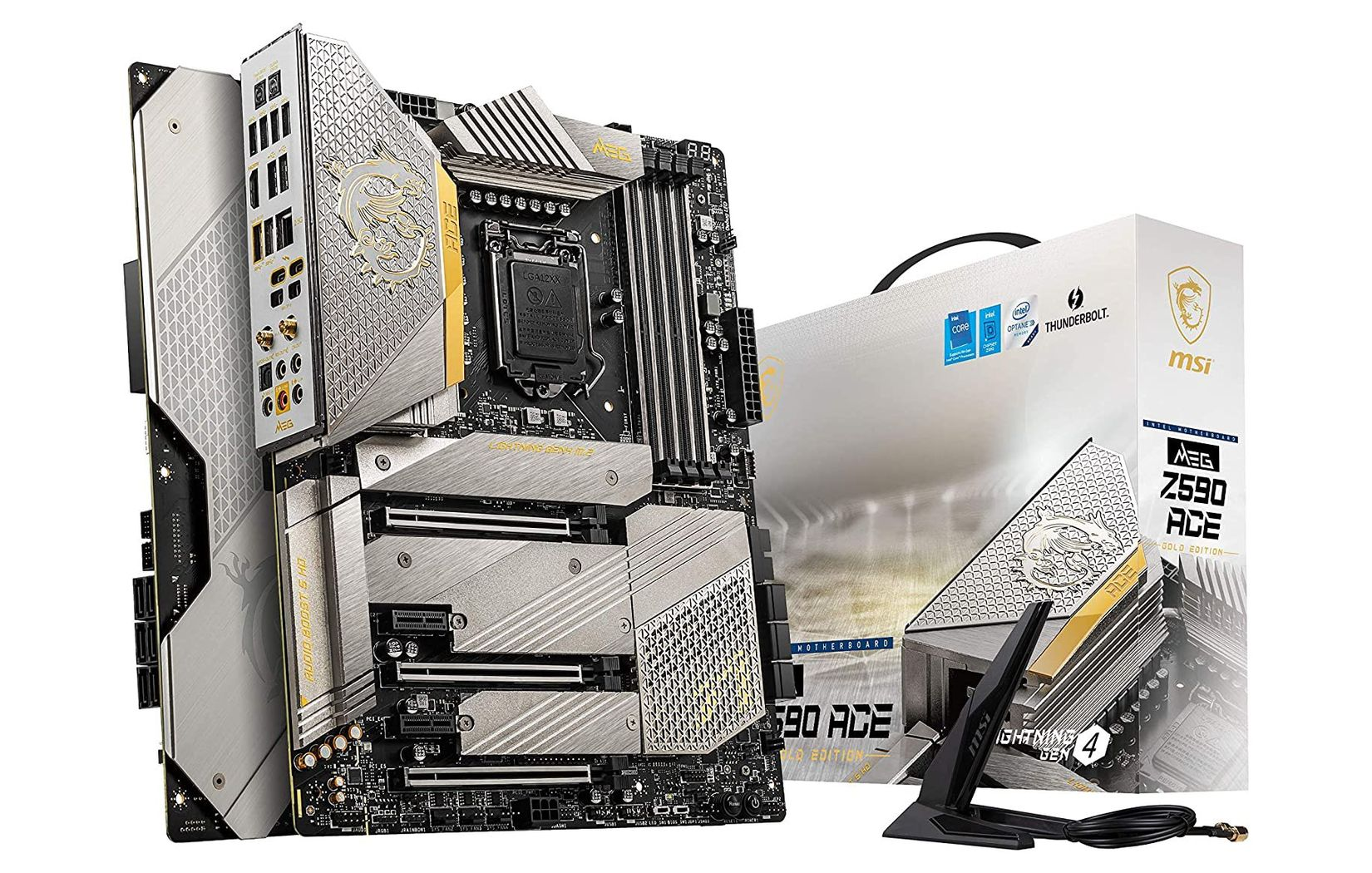 MSI MEG Z590 ACE Gold Edition motherboard has been pictured – VideoCardz.com