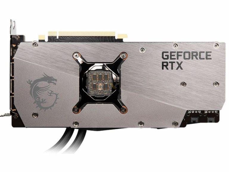 MSI GeForce RTX 3080 10GB SEA HAWK X 3