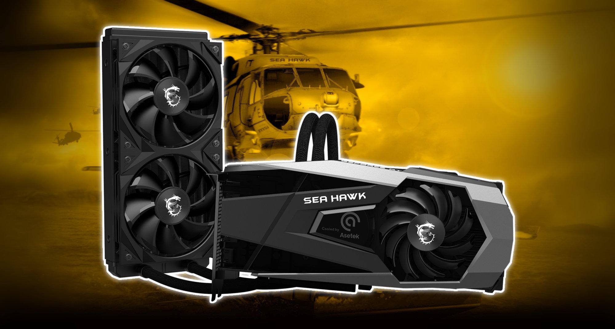 MSI launches GeForce RTX 3080 Sea Hawk X – VideoCardz.com