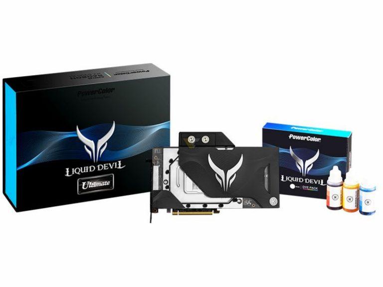POWERCOLOR Radeon RX 6900 XT 16GB Liquid Devil Ultimate4