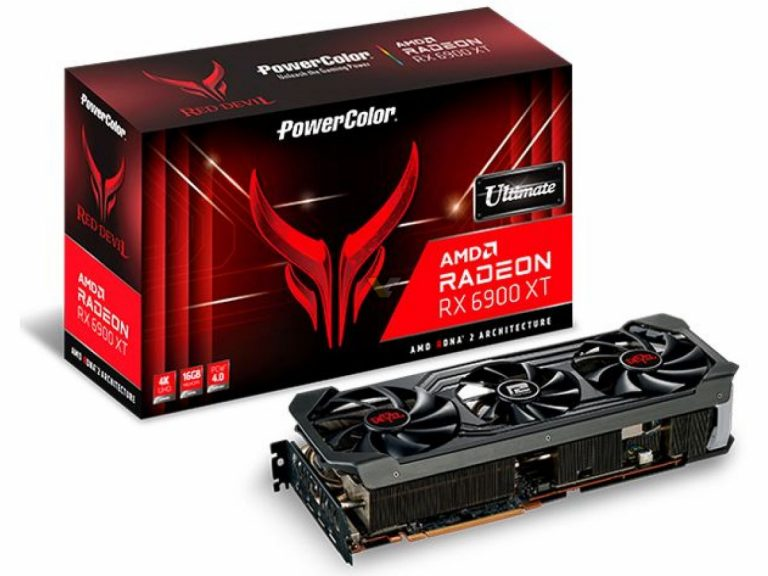 POWERCOLOR Radeon RX 6900 XT 16GB Red Devil Ultimate1