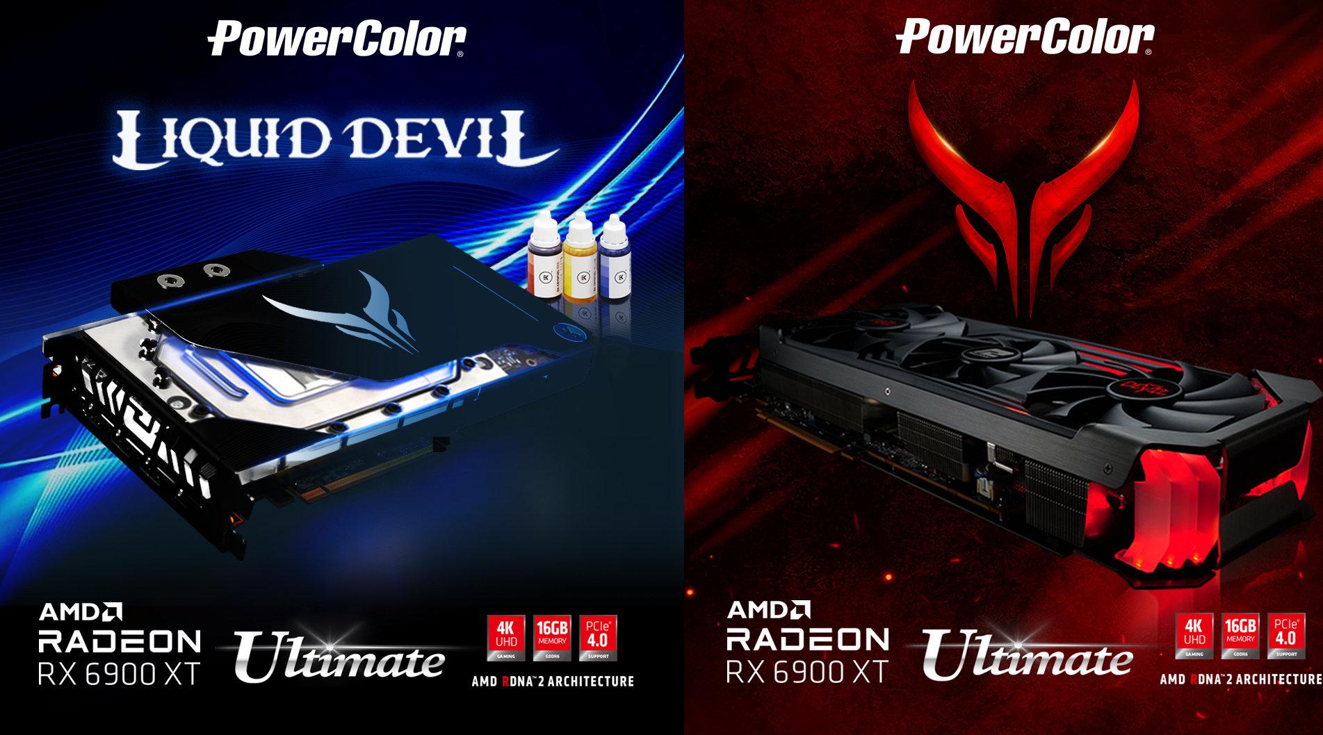 PowerColor launches Radeon RX 6900XT Red Devil Ultimate and Liquid Devil Ultimate – VideoCardz.com