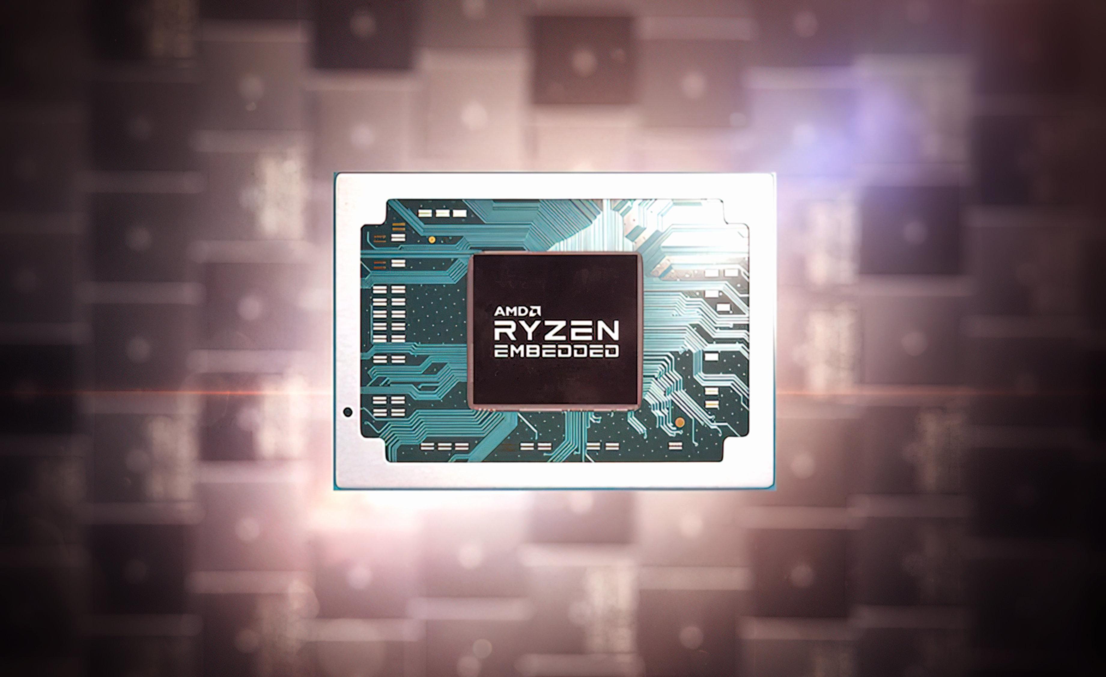 AMD Ryzen Embedded V3000 на базе Zen3 6-нм и RDNA2 получит поддержку памяти DDR5
