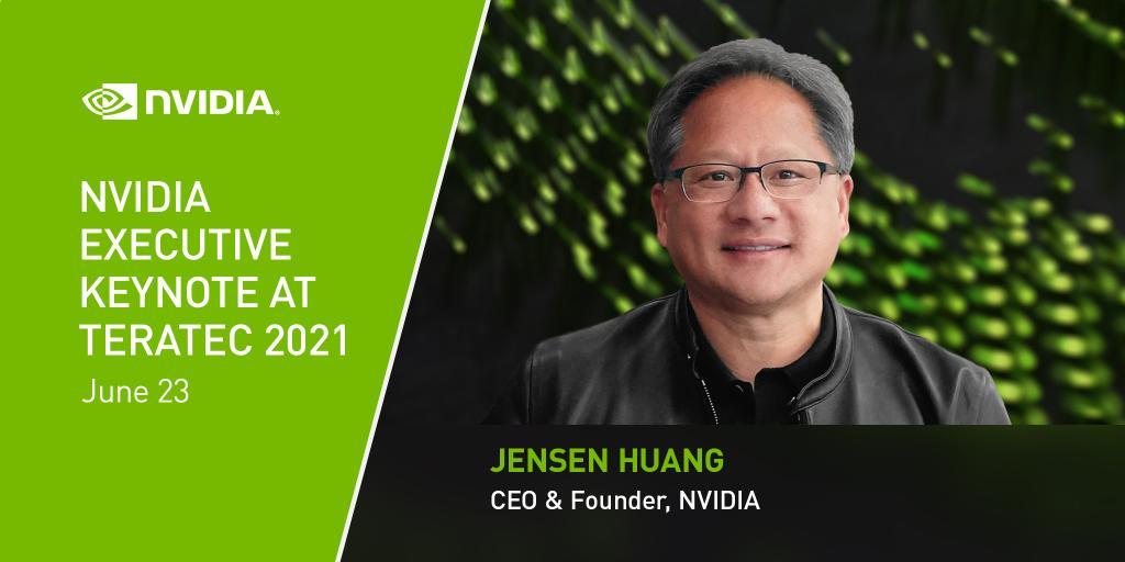Основатель и генеральный директор NVIDIA выступит с докладом на Teratec 2021